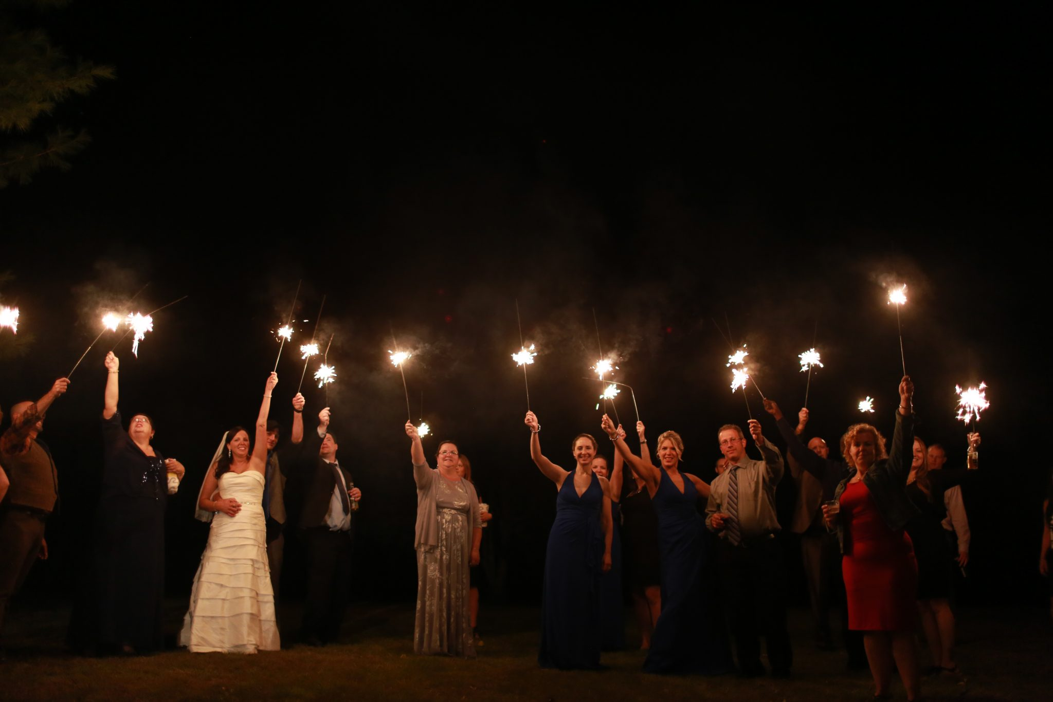 A sparkling wedding finale at OA